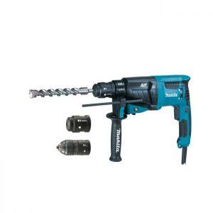 Makita | HR2631FT12 Bohr- und Spitzhammer 3 Funktionen